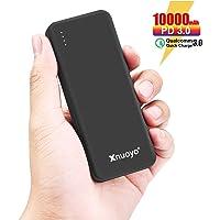 Xnuoyo PD 18W Power Bank Carga Rápida 3.0, 10000mAh Cargador Portátil Batería Externa de Entrada / Salida Tipo C Ultra-delgada Compatible con Teléfonos