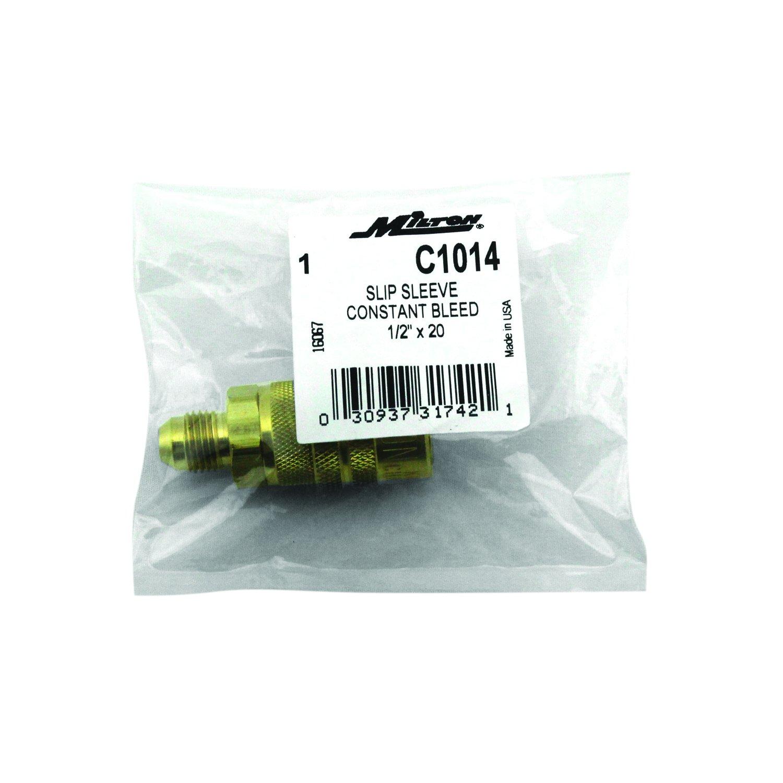 Milton C1014 Commercial Slip Sleeve Constant Bleed Detachable Fitting Milton Industries