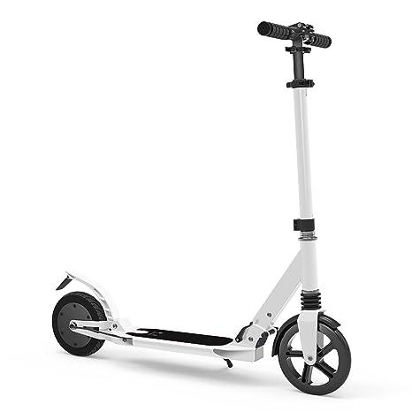 Hiboy - Patinete - Scooter Semi-Eléctrico Plegable - Modelo E09 - Blanco