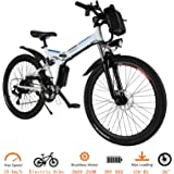 Tomasar Folding Electric Bike with 26 Inch Wheel