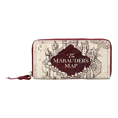 Harry Potter Cartera/Monedero para Damas The Marauders Map ...