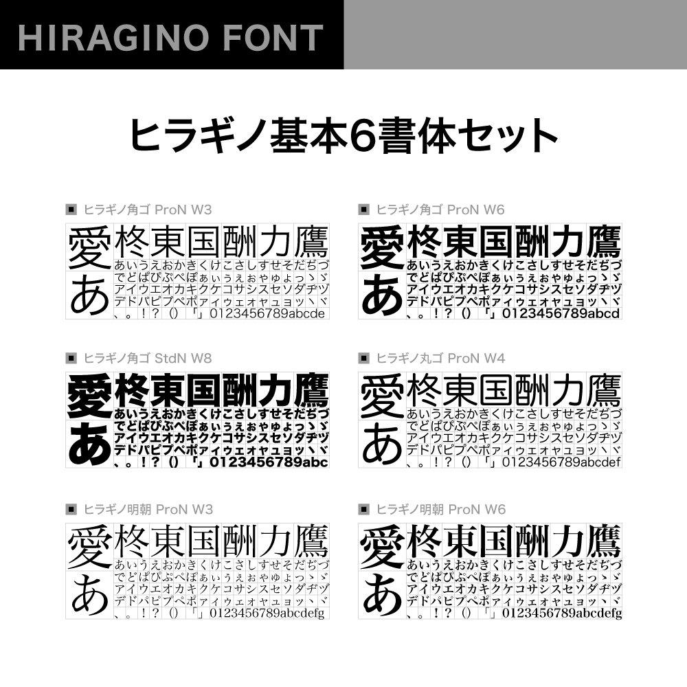 Amazon.co.jp: OpenType ヒラギ...
