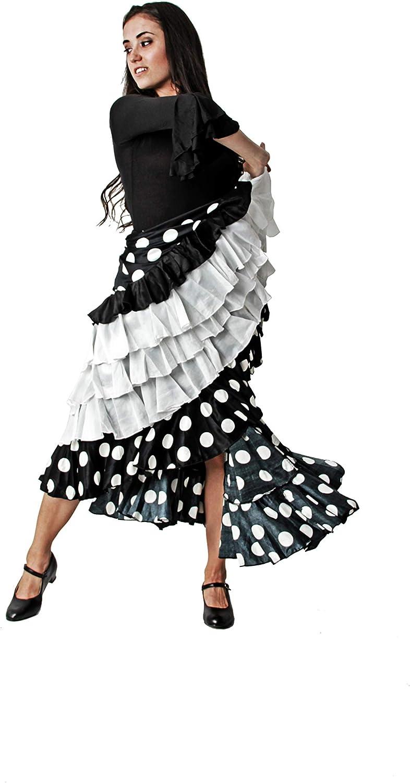 Costumizate! Falda Doble Volante Falda de ensayo con Doble Volante ...
