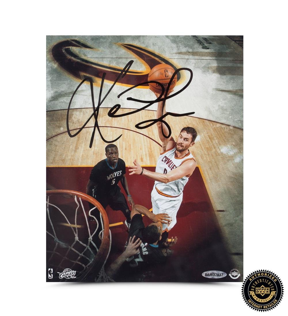 41cbd7380d4 Kevin Love Signed Cleveland Cavaliers 8x10