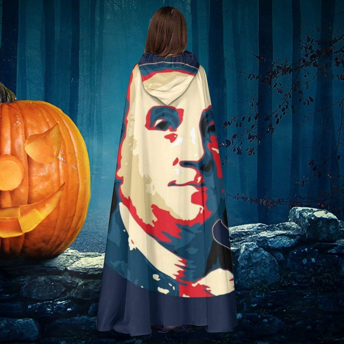 NULLYTG Benjamin Franklin Pop Art - Capa de Disfraz Unisex de ...