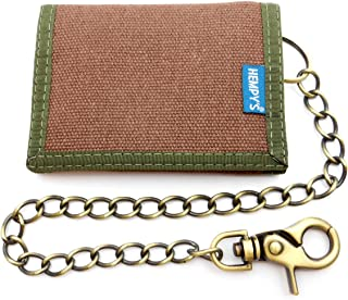 product image for Hempy's Hemp Tri-fold Wallet with Chain