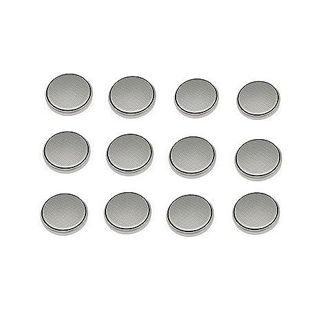 Pila CR2032, 12 Pilas de botón de botón de Litio CR2032 3 V 2032 para