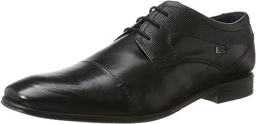 TALLA 42 EU. bugatti 312101121000, Zapatos de Cordones Derby Hombre