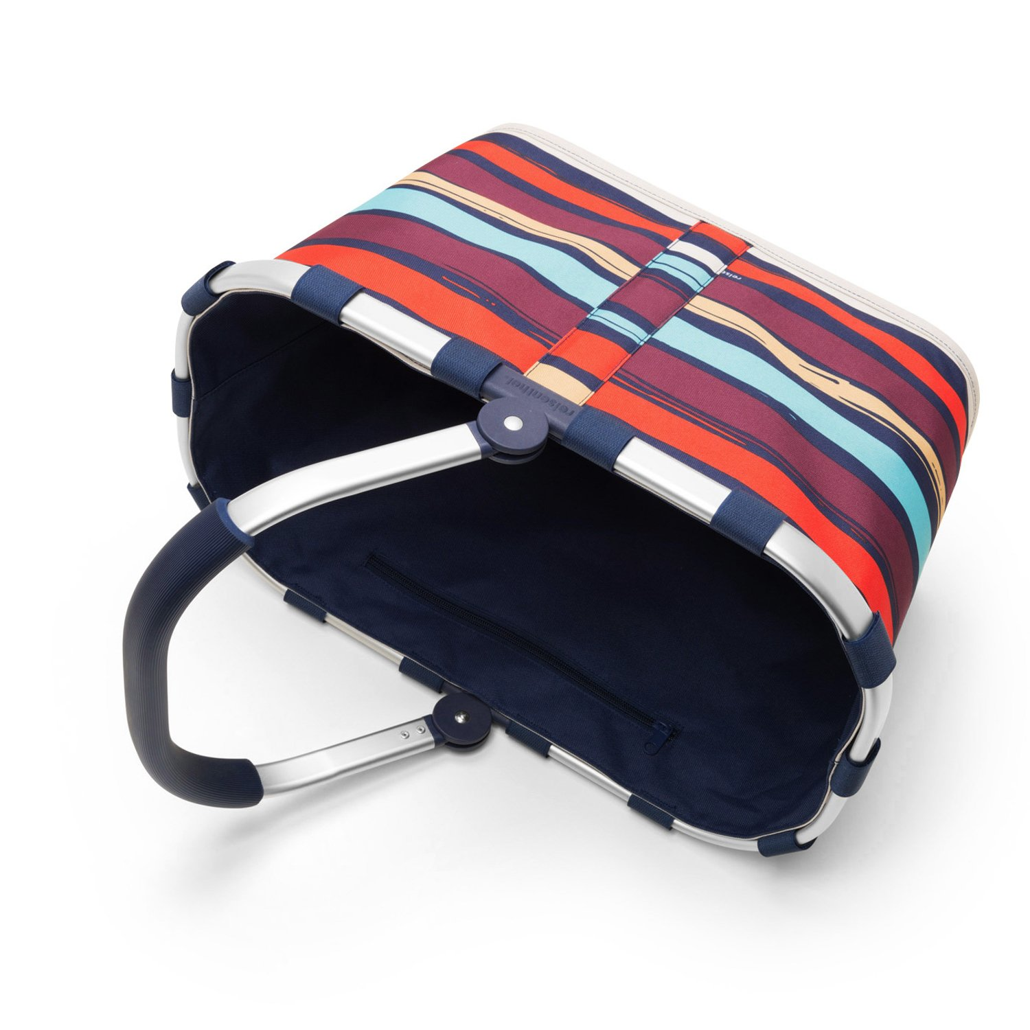 reisenthel Carrybag Fabric Picnic Tote, Sturdy Lightweight Basket Home Decor Multicolor