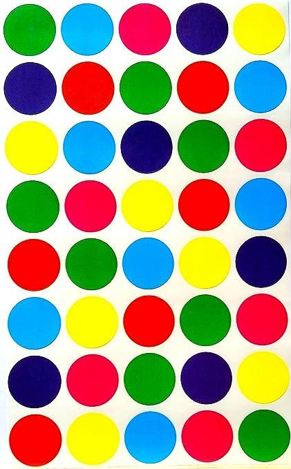 amazon com color coding labels inch 6 colors combination blue