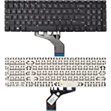 SUNMALL Replacement Keyboard Compatible with HP 250 G7 255 G7 15-DA 15-DB 15-DK 15-DR 15-DW 15-DU 15S-DU 15-DY 15s-DY 15s-EQ