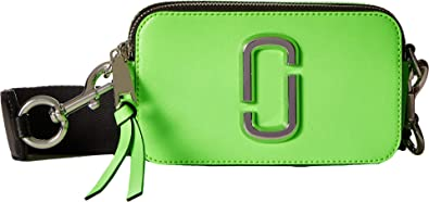 26f0cb359af9 Amazon.com  Marc Jacobs Women s Snapshot Fluoro Bright Green One ...