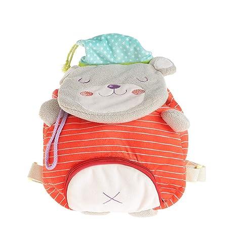 BONUS  Hessie Red Toddler Backpack, Cute Stuffed Bear Bag for Baby Unisex  over 72fc9a00df