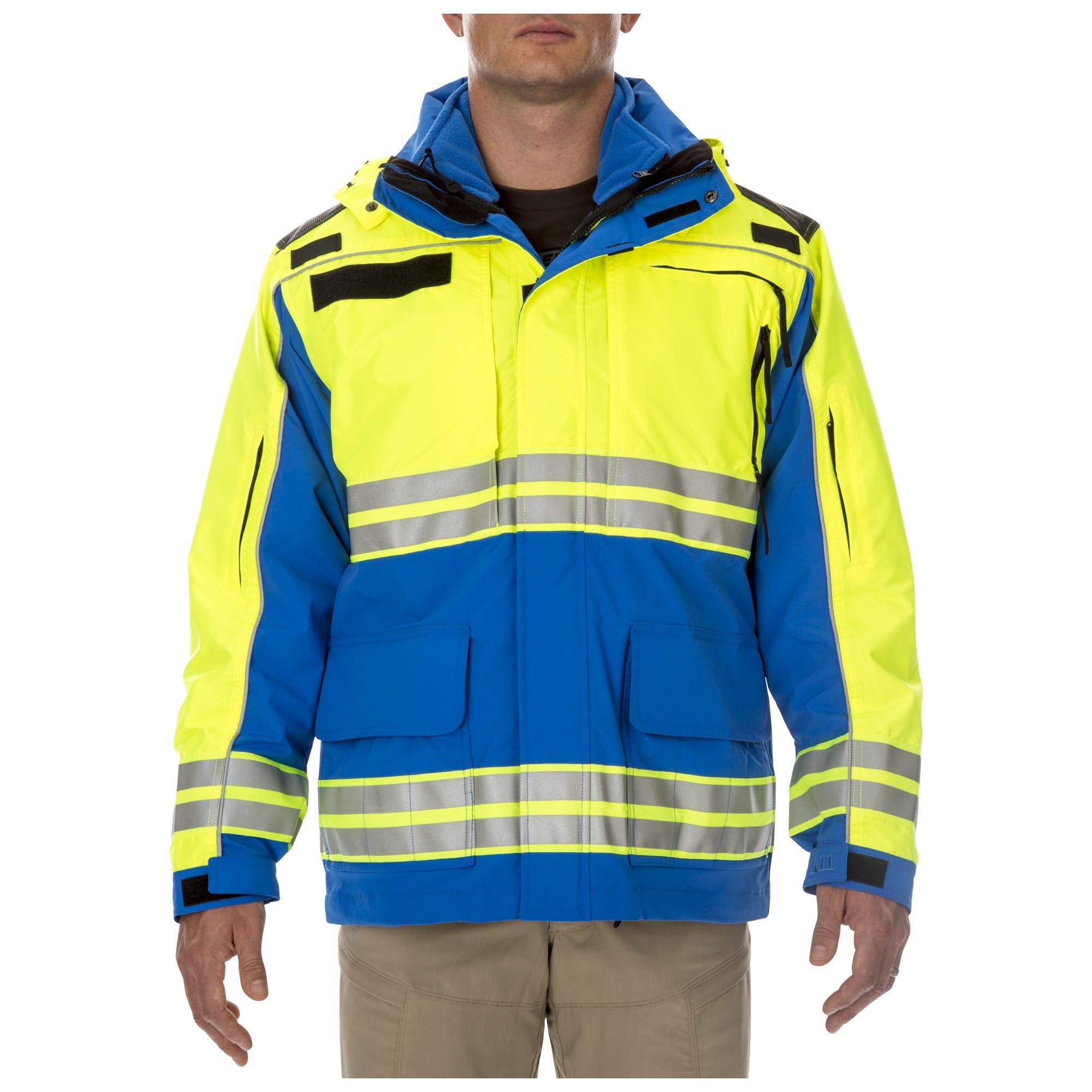 5.11 Parka táctica para profesionales de emergencias de EMS: alta visibilidad, estilo 48073