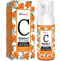 StBotanica Vitamin C Foaming Brightening Face Wash - 120ml - With Vitamin C & Natural Extracts