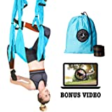 Amazon.com: Yoga Swing – Antigravity Yoga Hammock – Aerial ...