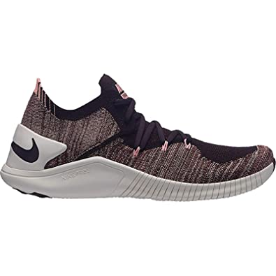 official photos 00203 b3ef2 Nike WMNS Free TR Flyknit 3, Chaussures de Fitness Femme, Multicolore  Burgundy Ash