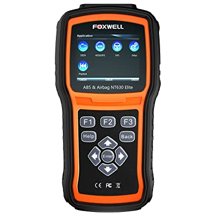Automotive Scan Tool >> Amazon Com Foxwell Nt630 Elite Obd2 Scanner Abs Srs Code Reader
