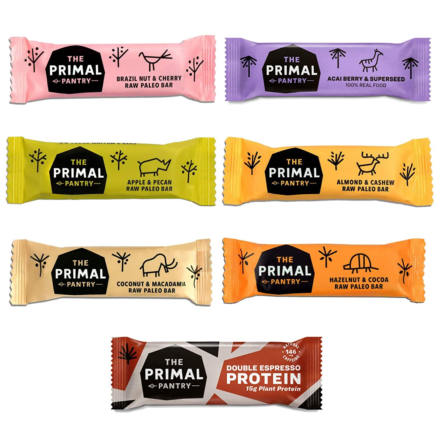 The Primal Pantry Paleo Bars Mixed Case