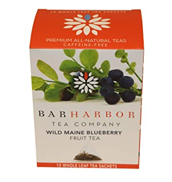 Amazon com : Wild Maine Blueberry Fruit Tea, Organic, 15 count