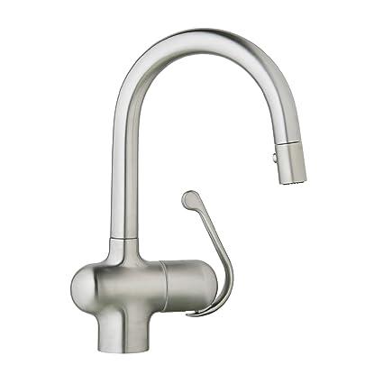 Ladylux Pro Single Handle Pull Down Prep Sink Faucet
