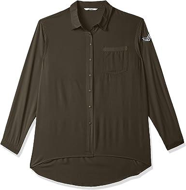 Only Onlella Oversized L/S Shirt Wvn Blusa para Mujer: Amazon.es: Ropa y accesorios