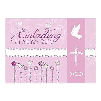 Schön 15 X Einladung Zur Taufe / Einladungskarten Mit Umschlag Im Set / Einladung  Zu Meiner Taufe