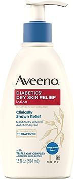 Aveeno Diabetics' Dry Skin Relief Lotion