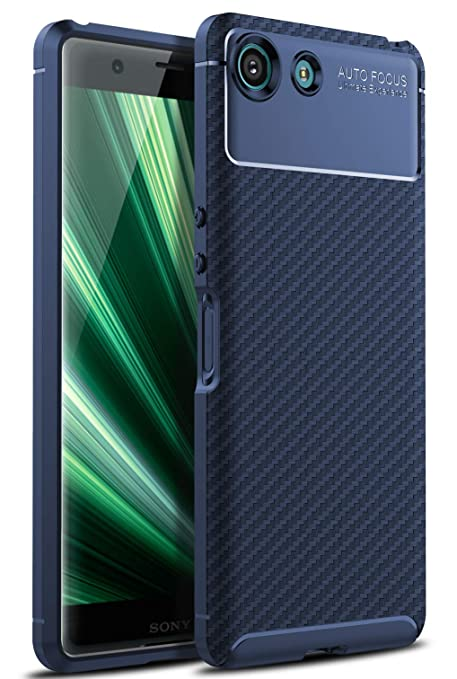 iBetter Sony Xperia XZ4 Compact Compact Funda Suave y Duradera, Funda de TPU. Funda para Smartphone Sony Xperia XZ4 Compact Compact.Azul