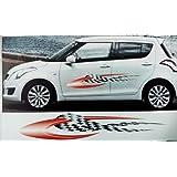 Galio OE Type Fitment Car Graphics For Maruti Alto  Aqua - Graphics for alto car