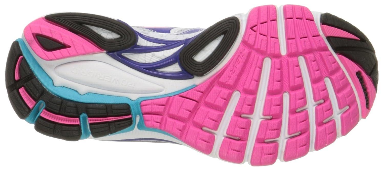 Saucony Women's Guide 8 Running Shoe B00KPTZW1S 10 N US|White/Twilight/Pink