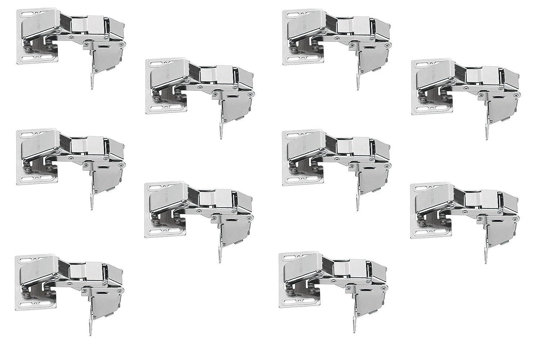 muebles herrajes de gedotec/® Caravan Bisagra hochklapps Charnier CH 600/solapas bisagras de cierre suave de amortiguaci/ón acero niquelado Muebles Bisagra para bisagra con apertura