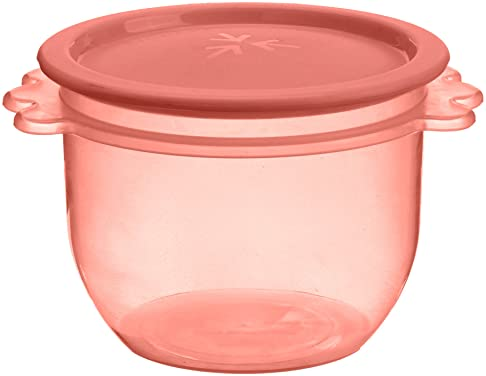 Signoraware Three Star Big Bowl Container,700ml, Set of 1, Deep Red Jars & Containers at amazon