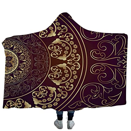 The Great Masquerader Anxiety And >> Amazon Com Ismyprint Hooded Blanket Masquerade Deluxe Blanket