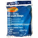 Kenmore Style C or Q - 20-5055, 20-50557 & 20-50558 2-Ply Micro EnviroCare Vacuum Cleaner Bags 9 bags in each package.