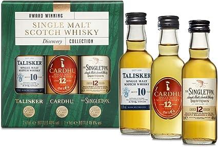 Estuche de regalo whisky escocés puro de malta: Talisker 10 ...