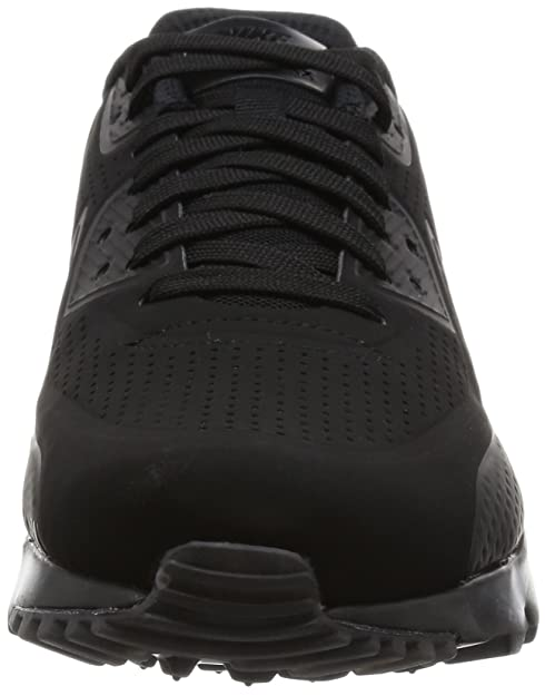 online store 687a2 cf7b2 Nike Air Max 90 Leather Chaussures de Running Homme, Nero-Bianco, 38.5 39   Amazon.fr  Chaussures et Sacs