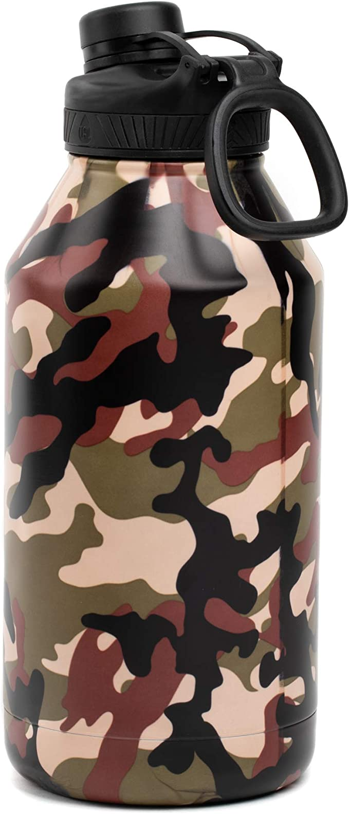 NRL MANLY SEA EAGLES STAINLESS STEEL WRAP DRINK BOTTLE CAMOUFLAGE PRINT 500ML