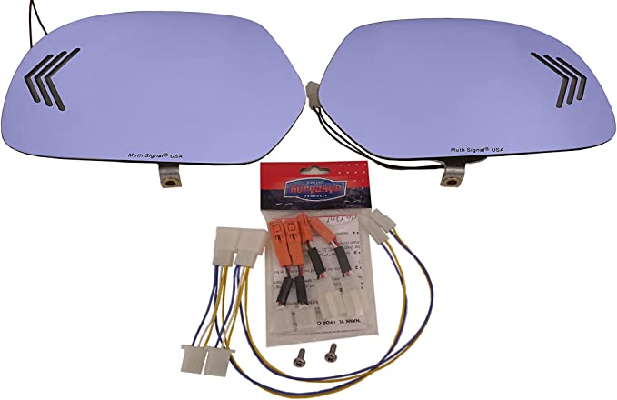 Muth 220-0056-2 Chrome 2 Diameter Signal Mate Blind Spot Mirror