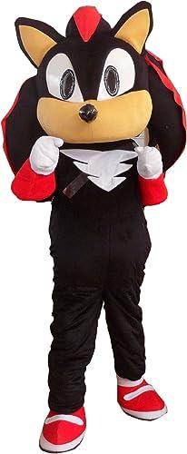 professional Sonic the Hedgehog Mascot Costume high quality walking doll