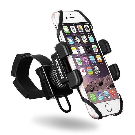 VicTsing Soporte Universal de Bicicleta para Móviles, GPS y los Dispositivos hasta 6 Pulgadas,