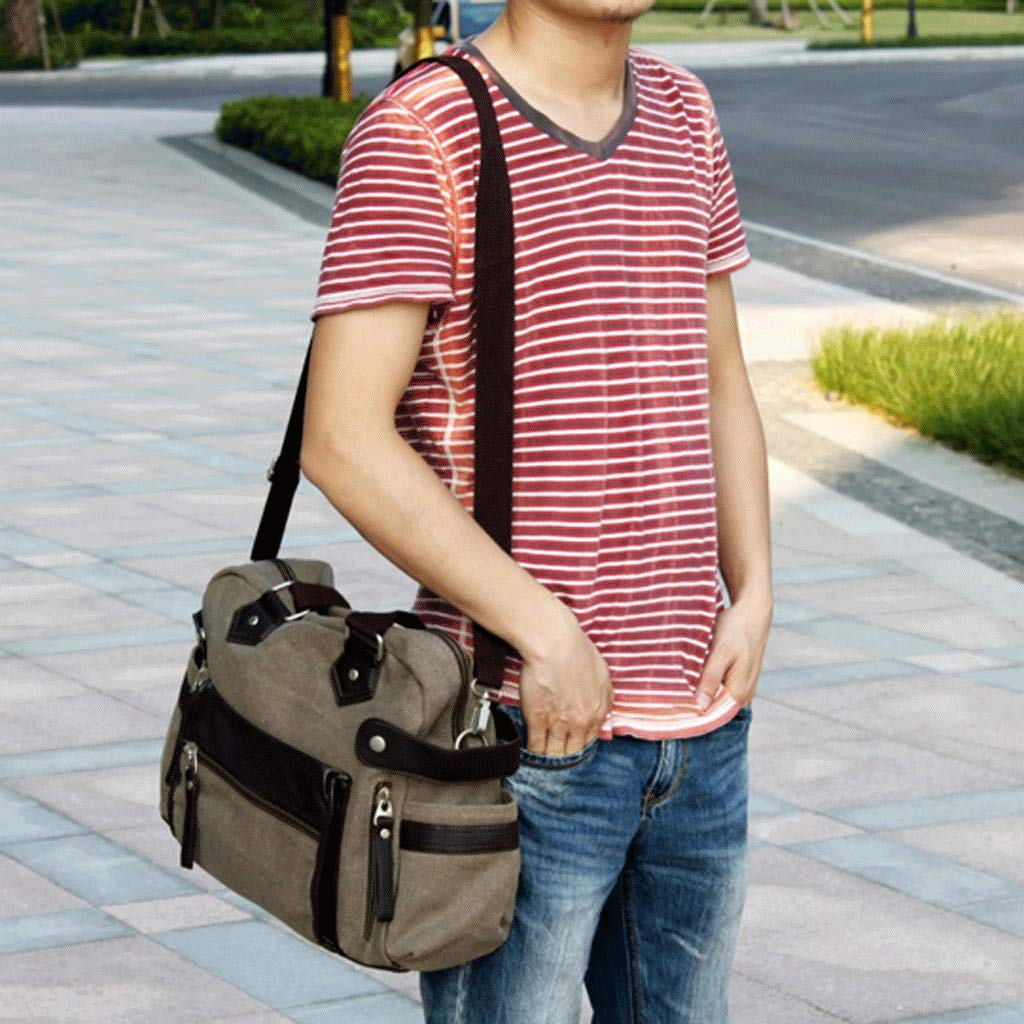RXF Portable Leisure Bag Mens Messenger Bag Travel Vacation Package Color : 2#, Size : S