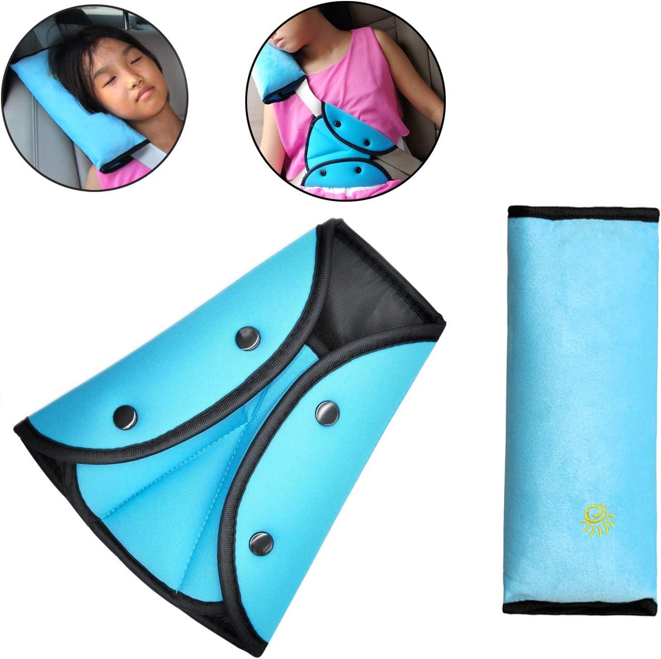 Sicherheitsgurt Schutz blau Timorn Gurtpolster Kinder,Auto Sicherheitsgurt Polster Sicherheitsgurt Kissen Sicherheitsgurt f/ür Kinder