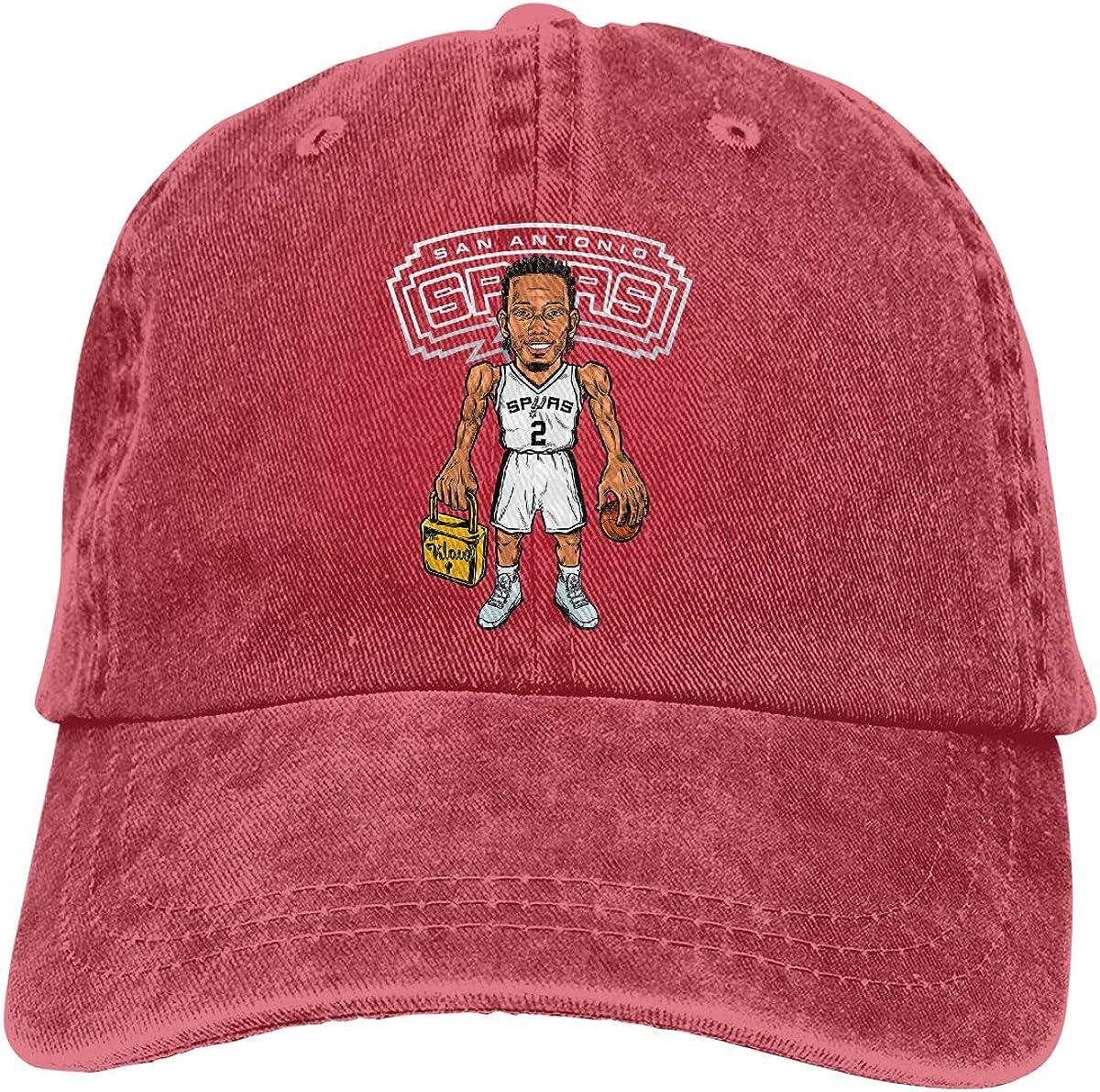 Haggai Romeo Unisex Ka-WHI Leon-ard Snapback Baseball Cap Flat Brim Hip Hop Hat Adjustable Dad Hat