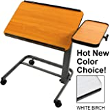 Platinum Health PHT2500 Acrobat Professional Overbed or Laptop Table with Tilting and Height Adjustable Casters
