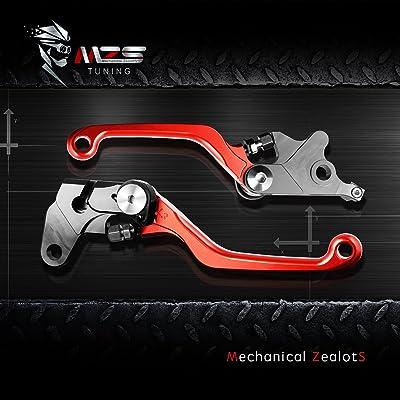 CNC PIVOT BRAKE CLUTCH LEVERS Racing For Honda CR80R//85R CR 80R CR85R 98-07