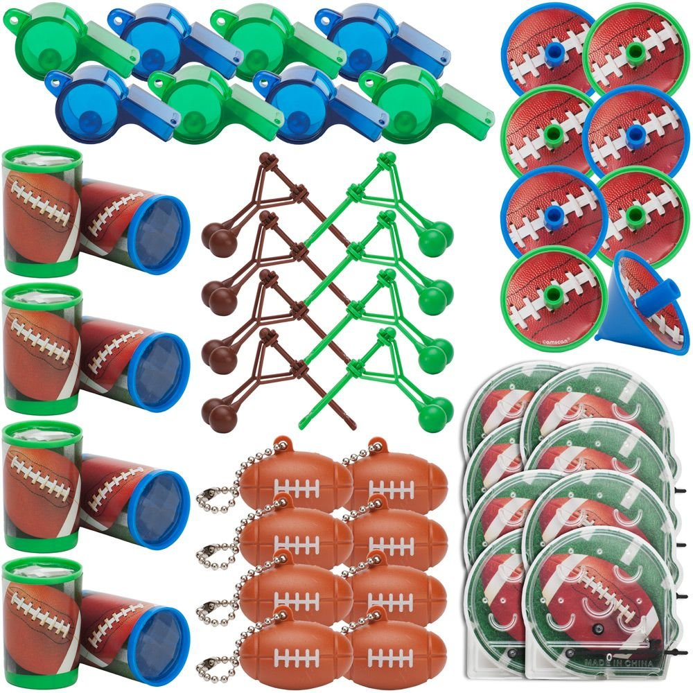 Football Favors Value Pack, 48pc