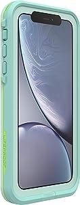 Lifeproof FRE SERIES Waterproof Case for iPhone Xr - Retail Packaging - TIKI (FAIR AQUA/BLUE TINT/LIME)