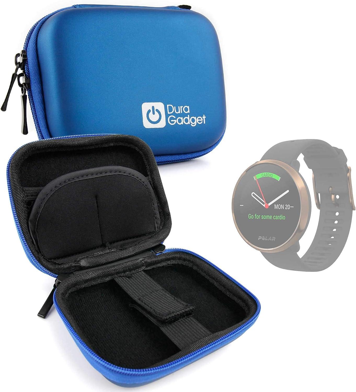 DURAGADGET Estuche Rígido Compatible con Smartwatch Suunto Spartan Sport Wrist HR, Suunto 9 Baro, Polar Ignite, Montblanc Summit 2: Amazon.es: Electrónica