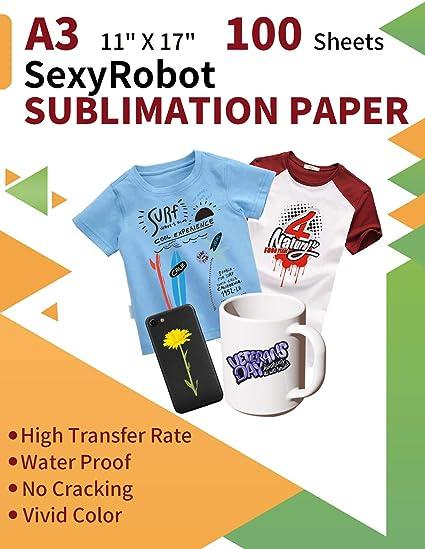 SexyRobot papel de transferencia por sublimación, tamaño A3 ...